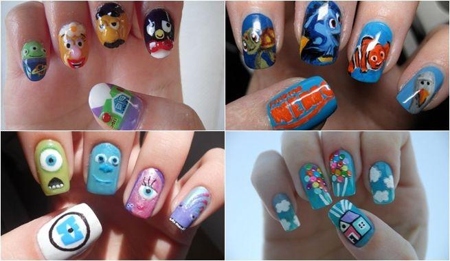Nail Art Las Unas Con Dibujos Disney Chicalinda Es Unas Disney Diseno De Unas Tumblr Las Unas