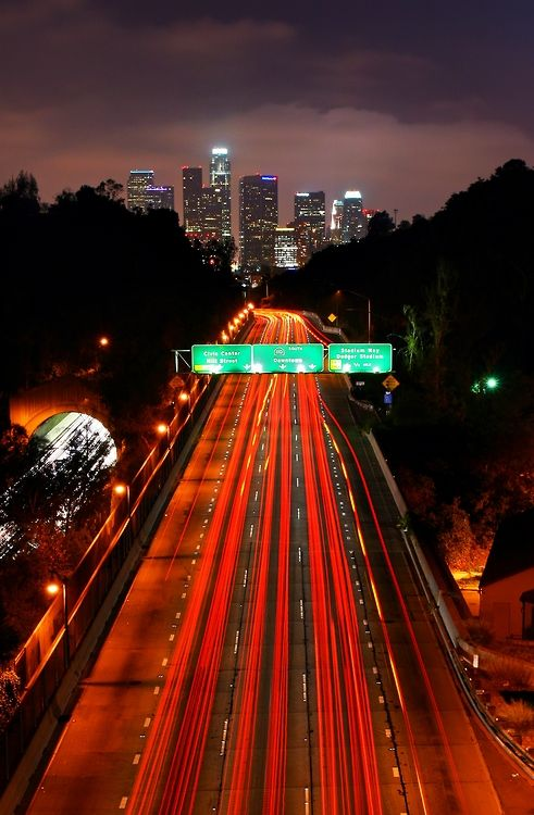 Highway to Hell, Los Angeles | California (by Mac Danzig Photography)