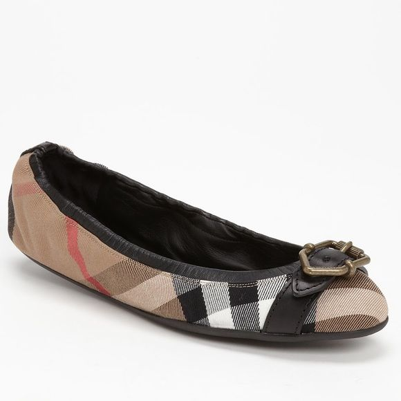 5ef2f0407825d New Burberry Glengall Black Flats 7.5 Brand new in box and authentic!  Bought from Nordstrom. Retails   325 plus tax Size  EU 38  US 7.5 Burberry Shoes  Flats ...