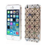 Plastový obal s kryštálmi KINGXBAR pre iPhone 5 5S SE 4c573378a03