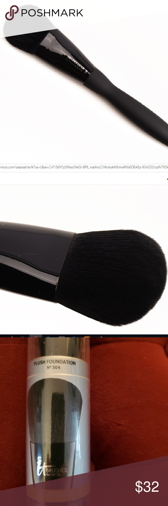 IT No. 304 Velvet Luxe Plush Foundation Brush Foundation
