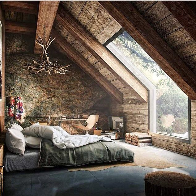 15 Wicked Rustic Bedroom Designs That Will Make You Want Them: Pin By Manju On House Hold Living