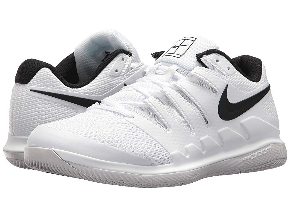 23ab1ac0a32bd Nike Air Zoom Vapor X (White Black Vast Grey Summit White) Men s Tennis  Shoes. Bring speed and agility to the match with the Air Zoom Vapor X  tennis shoe ...