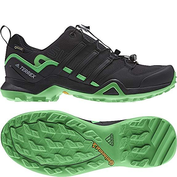 96a0b83039d adidas outdoor Mens Terrex Swift R2 GTX Shoe (9.5 - Black Black Energy  Green)