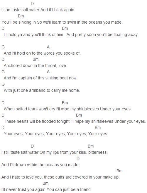 Ed Sheeran Shirtsleeves Chords | Songs to Learn | Pinterest ...