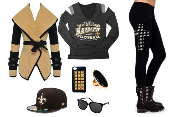 New Orleans Saints Gameday Fashion! Whether you re a saint or sinner f5f454b9f