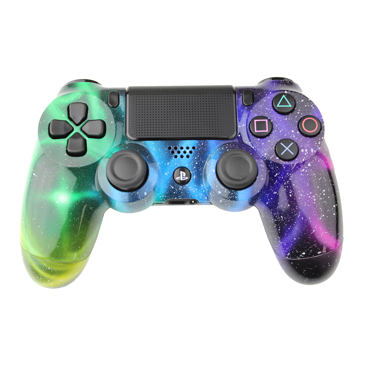 Game Controllers For Ps4 : Morbidstix nebula galaxy playstation controller