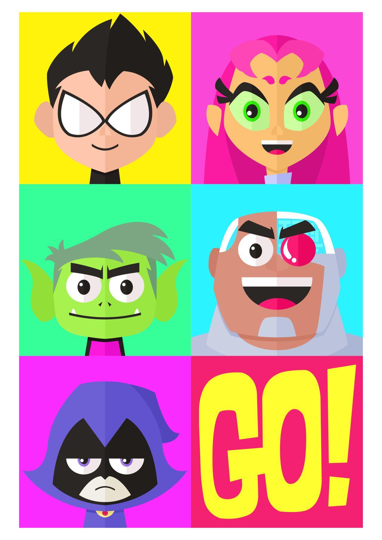 Teen Titans Go Artwork By Iamgeddy  Teen Titans -3198