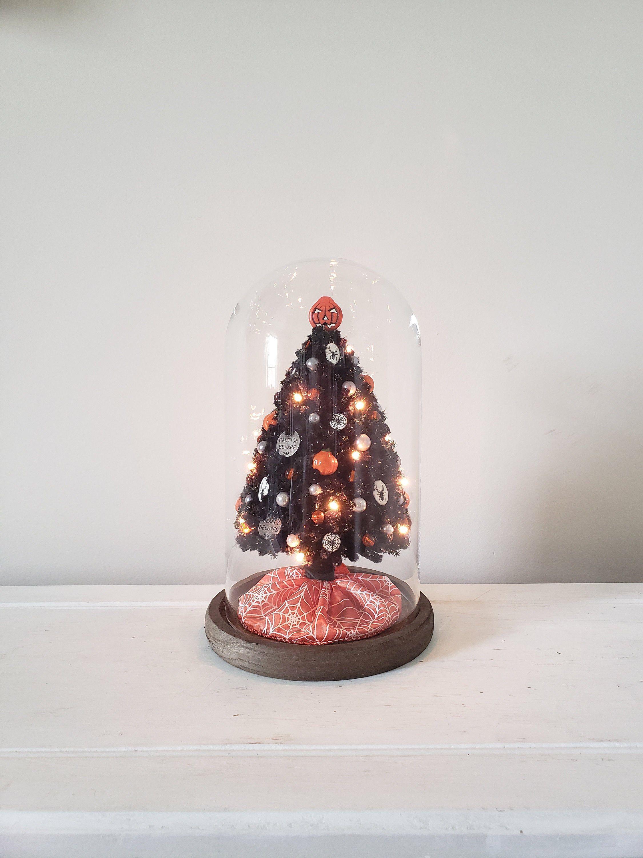 Halloween themed handmade miniature chenille Christmas