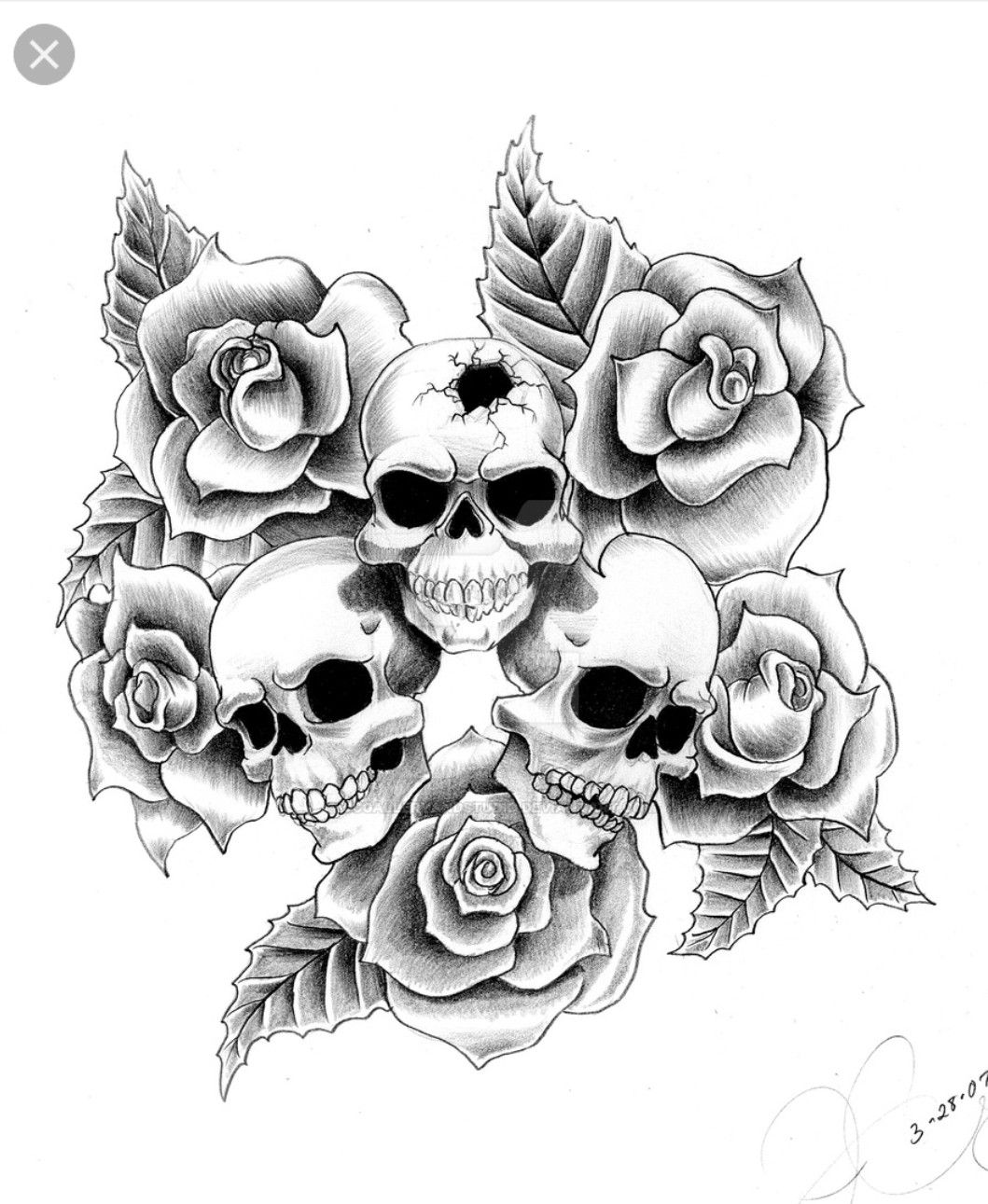 pin von artiimoiis auf b ren totenkopf tattoo ideen. Black Bedroom Furniture Sets. Home Design Ideas