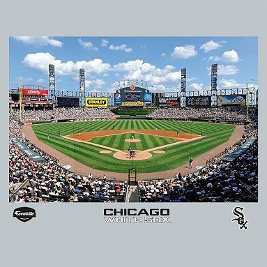 Chicago White Sox Us Cellular Field Stadium Mural Fathead Chicago White Sox Chicago White Sox Stadium Us Cellular