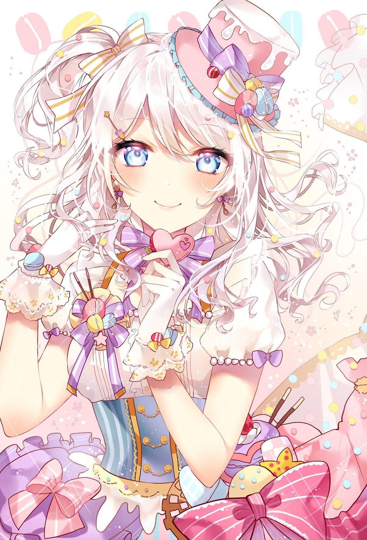 Картинки аниме персонажи девушки