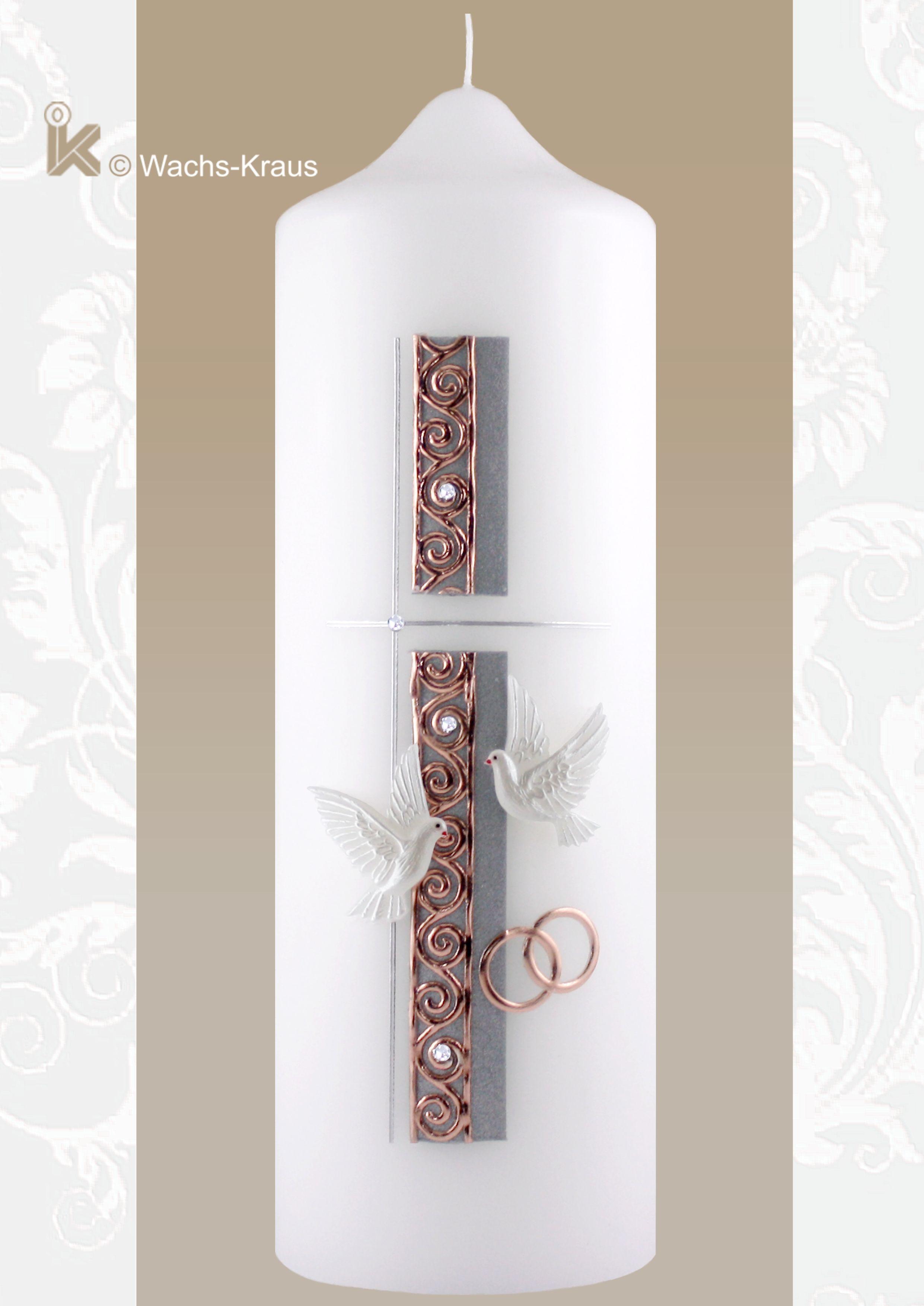 Pin Von Marianne Auf Kerzenmuster Hochzeitskerze Kerzen Und