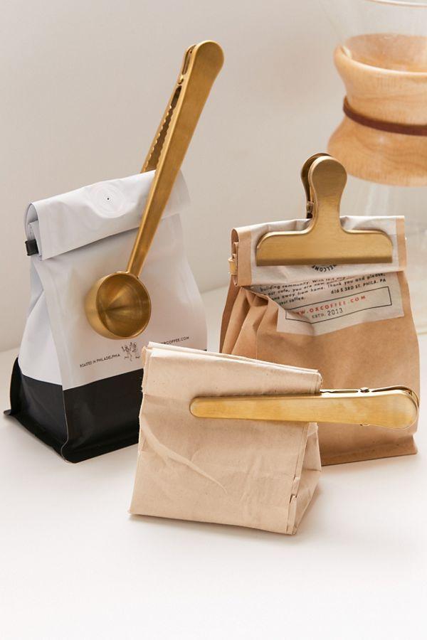 Brass Coffee Clip – Set Of 3