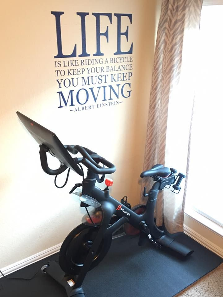 Peloton Home Setup Peloton Biking Workout Home Gym