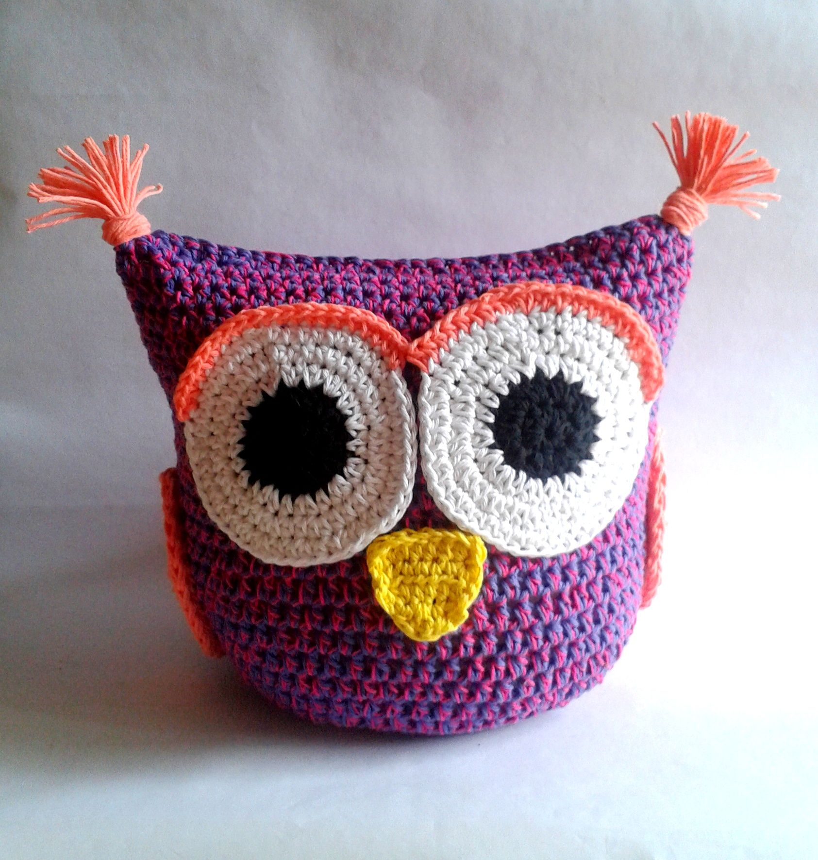 Único Búho Patrón Capullo Crochet Motivo - Manta de Tejer Patrón de ...