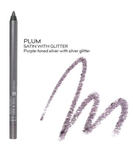 Styli Style Line Seal Semi Permanent Eye Liner Plum Els014 Eyeliner Liner Stylus