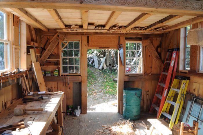 Door view longer wood n craft shop stuffe garage cabanon jardins - Baraque de jardin ...