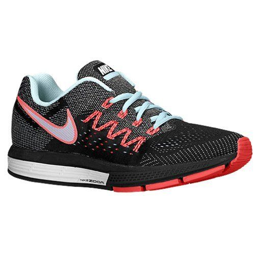 separation shoes 9ae33 6617b Nike Air Zoom Vomero 10 Womens Ice WhiteBlackHot Lava Running Sneakers WIDE  -- Continue to the product at the image link.(This is an Amazon affiliate  link)