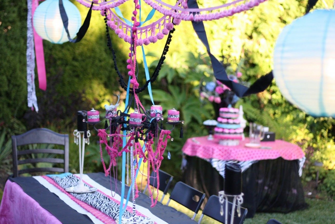 Image of outdoor party decorations ideas Happy Day Ahead
