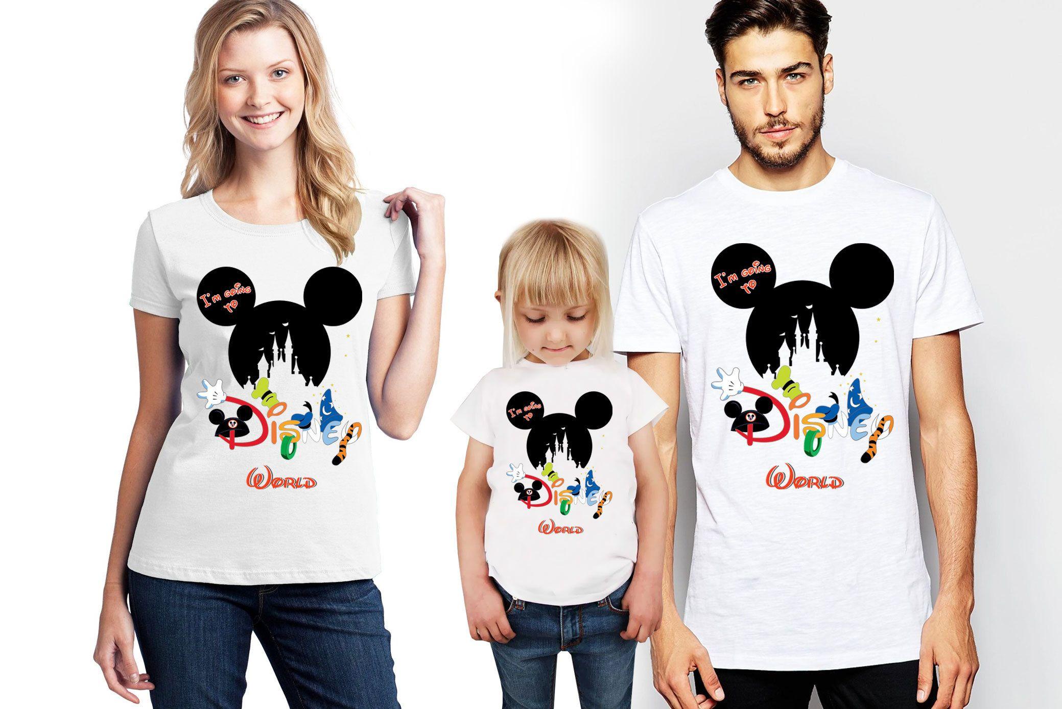 Custom Last Name Mickey Ears Sublimation Tee!