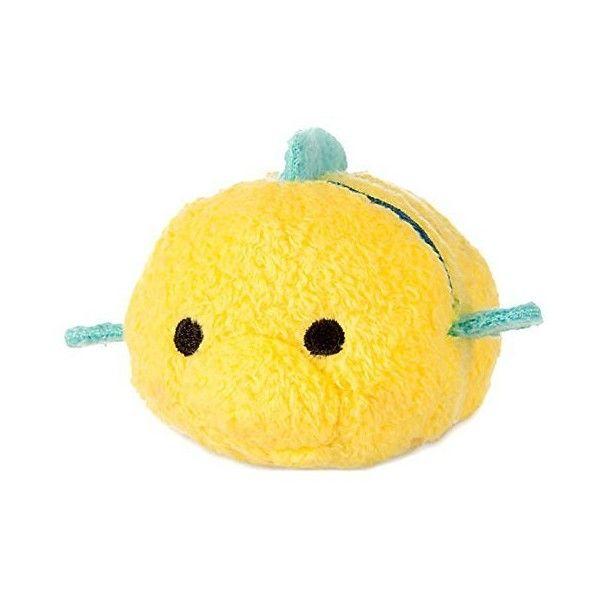 "Disney The Little Mermaid Tsum Tsum Flounder 3 3/4"" Plush ($9.82) ❤ liked on Polyvore featuring disney"