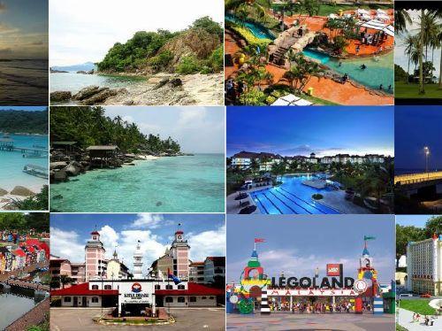 Tempat Tempat Menarik Di Johor Informasi Pinterest Malaysia