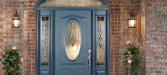 What to do around the outside of windows how to install - How to hang a exterior prehung door ...