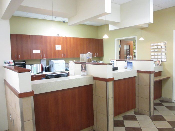 Check Out With Images Reception Desk Referrals Veterinary