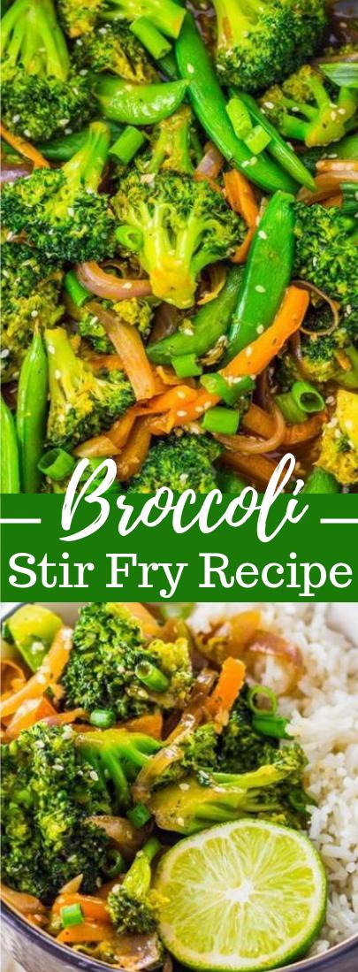 Broccoli Stir Fry Recipe #vegetarian