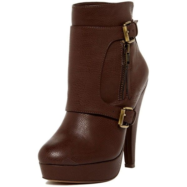 d34a8c26c17e Charles David Birgit Platform Bootie ( 34) ❤ liked on Polyvore featuring  shoes