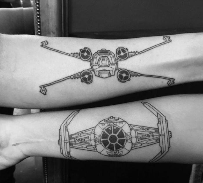 tatouage geek star wars tattoo tatouages star wars tatouage et tatouages geek. Black Bedroom Furniture Sets. Home Design Ideas