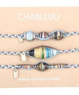 Chan Luu 3 Pack Paper Friendship Beads #accessories  #jewelry  #bracelets  https://www.heeyy.com/suggests/chan-luu-3-pack-paper-friendship-beads-cashmere-blue-mix/