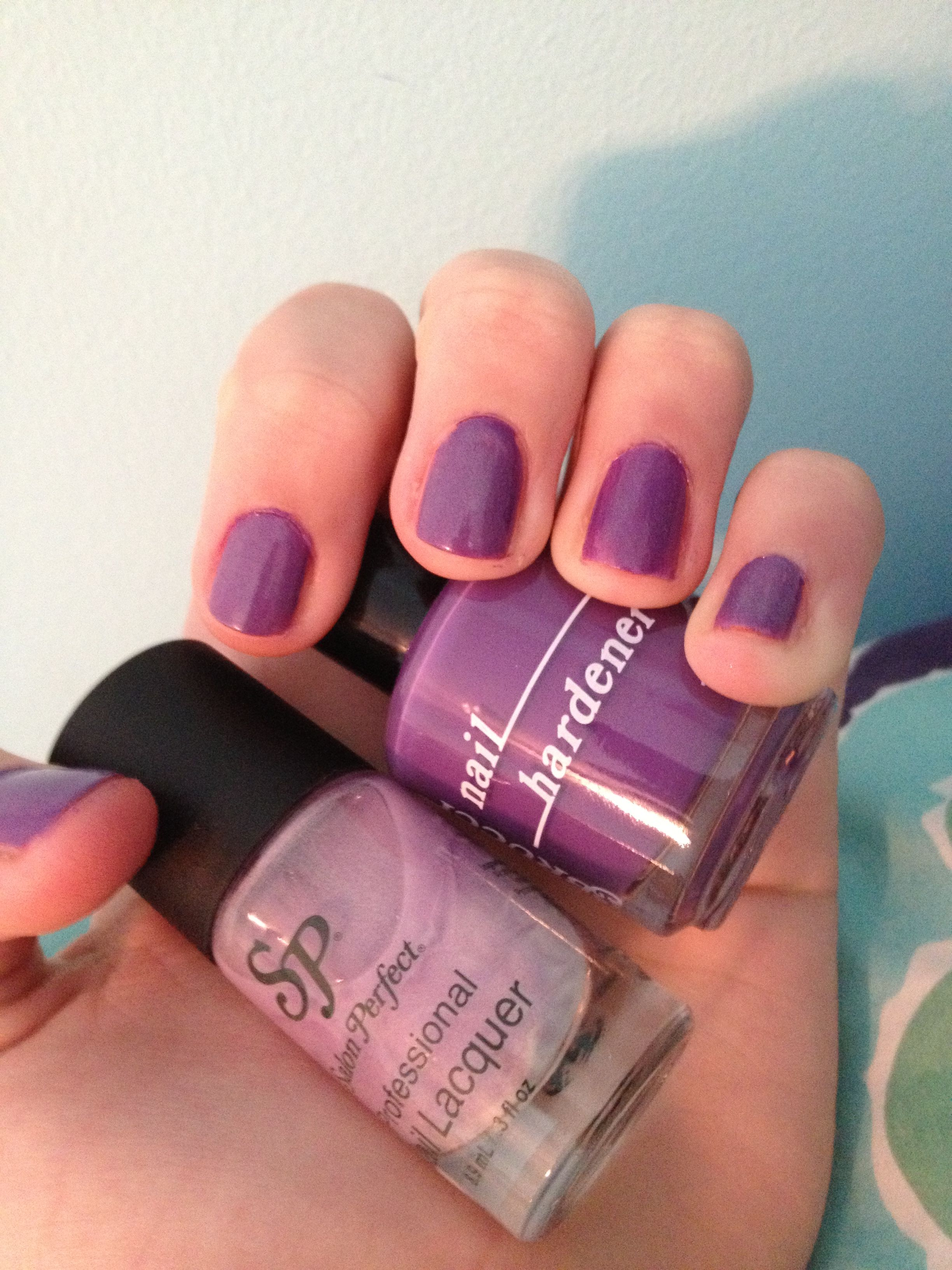 Brucci Nail Hardener: Dani\'s Twisted Purple Salon Perfect: Purple ...