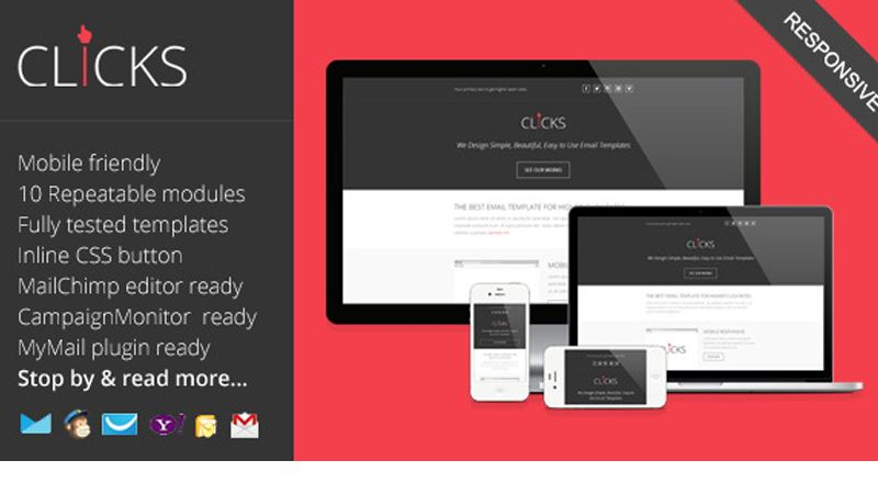 Top 15 Responsive HTML Email Templates (Free, Premium