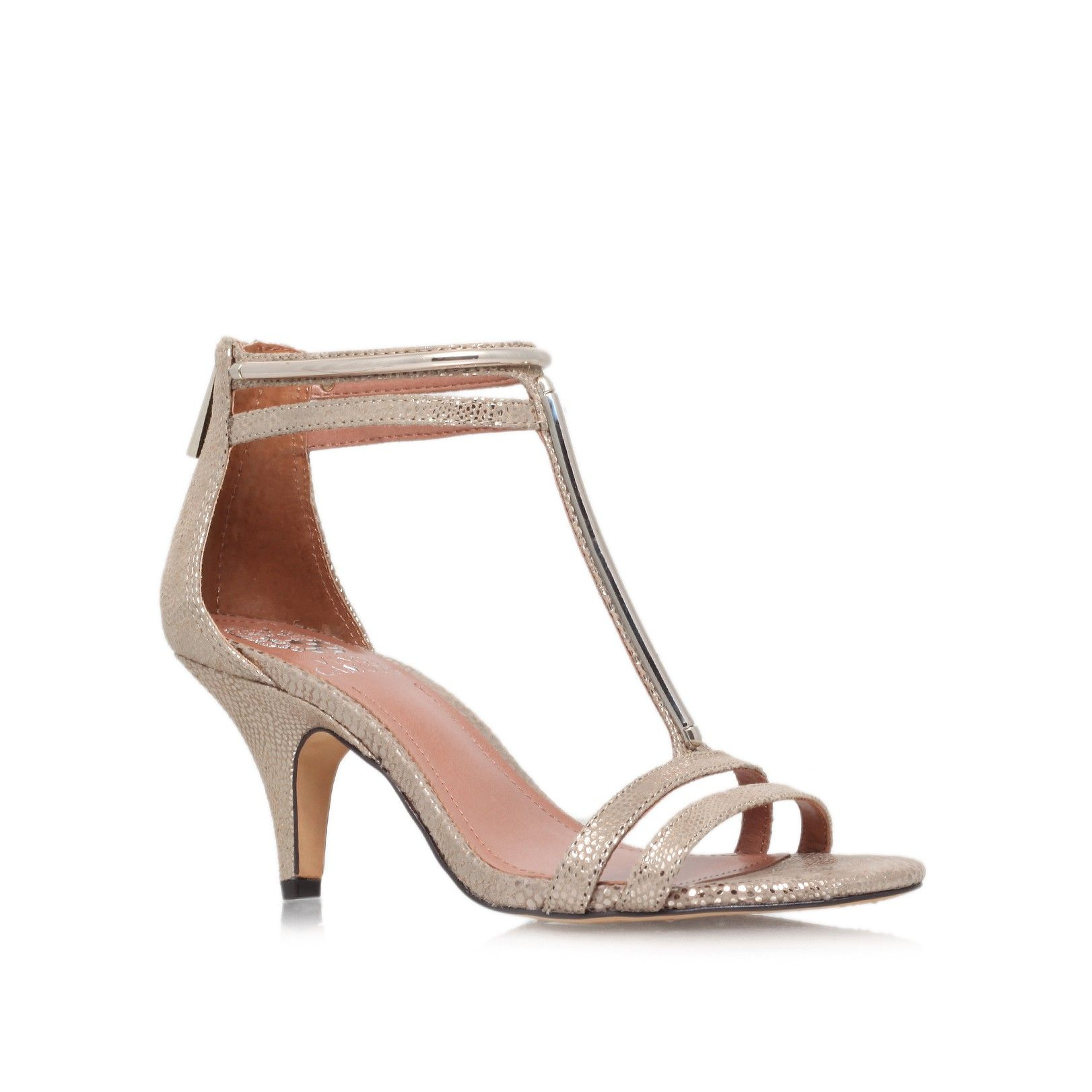 Mitzy Gold Shoe By Vince Camuto Women Shoes Party Shoes