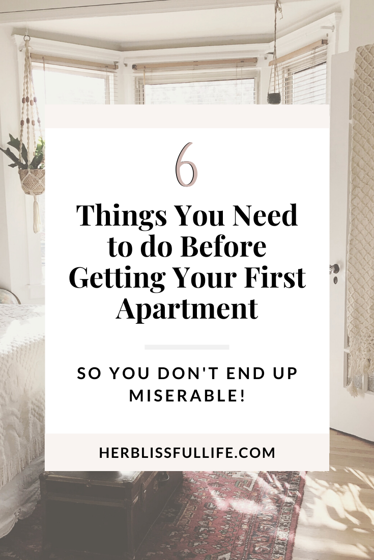 On The Hunt For Your First Apartment Make Sure You Do These 6