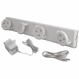 Battery Operated Track Lighting Led Battery Operated Track Light With Ac Adapter  Craft Fair Booth