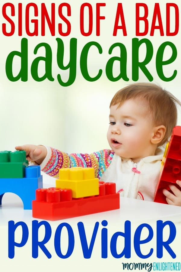 Warning Signs of a Bad Daycare Provider (watch for the