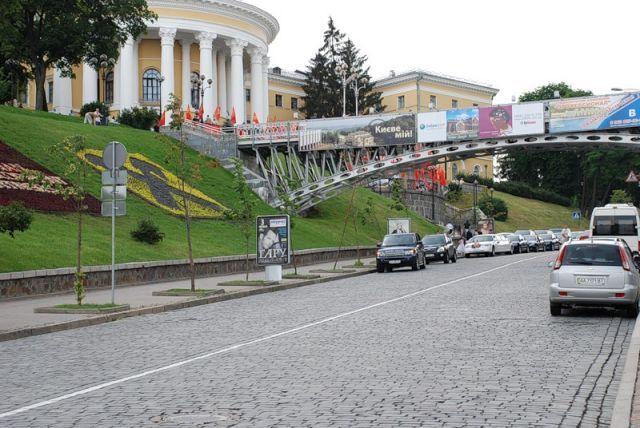 Мост Тысячелетий в Киеве