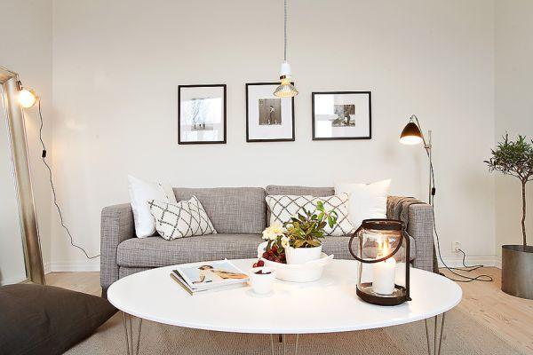 Klein Aber Geraumig Und Schon Organisierte 39 Quadratmeter Grosse Wohnung Wohnung Dekoration Wohnung Organisieren