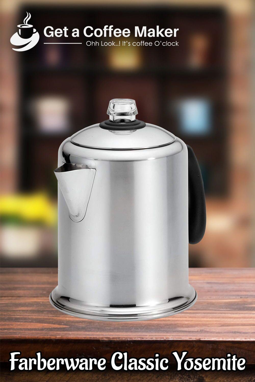 Top 10 Coffee Percolators June 2020 Reviews Buyers Guide Percolator Coffee Single Cup Coffee Maker Best Coffee Maker
