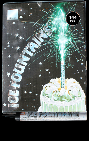 Ice Fountains x 144 - 50p each FREE DELIVERY! | Galactic Fireworks