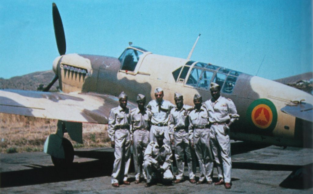 A Fairey Firefly of the Imperial Ethiopian Air Force. The