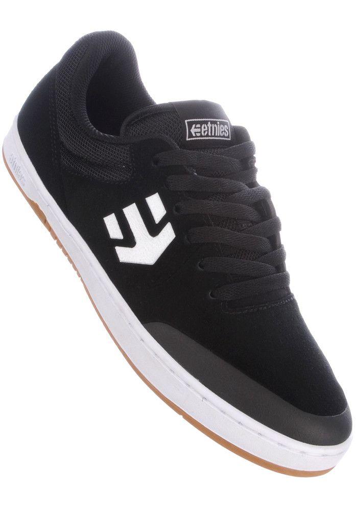 Jameson Vulc, Chaussures de Skateboard Homme, Noir (Noir/Blanc), 42.5 EUEtnies