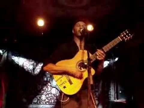 This Land is Your Land- originally by Woody Guthrie- Sung by Tom Morello from Rage Against The Machine. Enjoy!!!:)