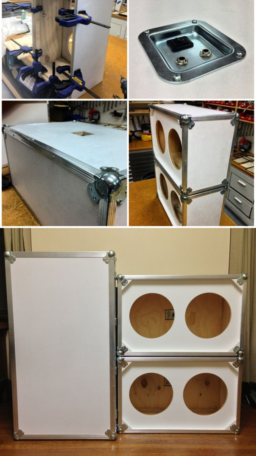 diy guitar cabinet diy custom 2x12 guitar speaker cabinets carpentry 14898