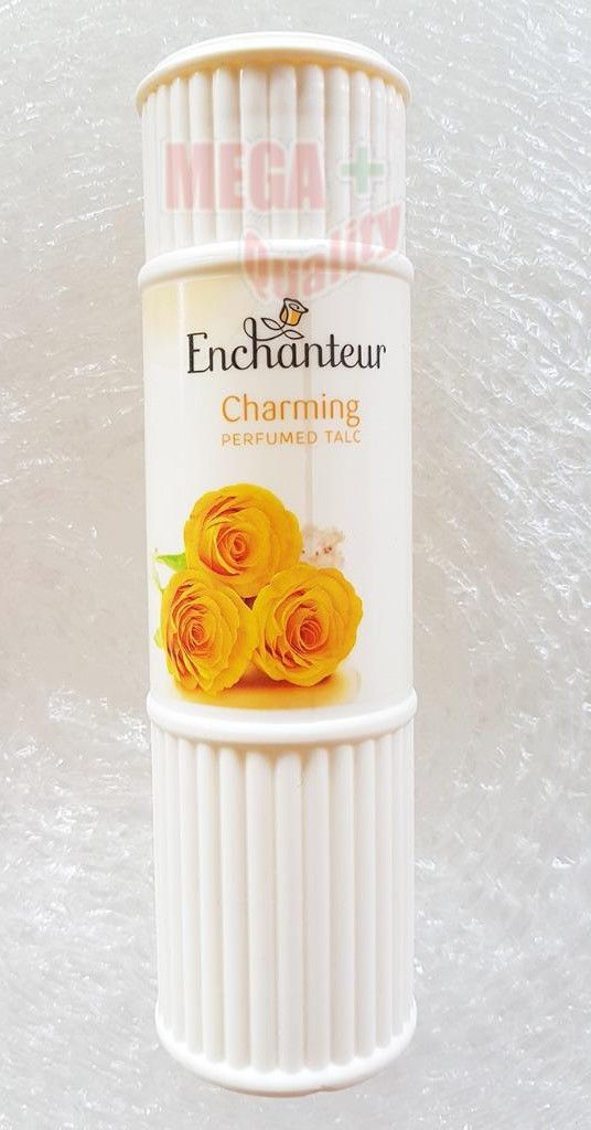 9 79aud Enchanteur Charming Perfumed Talc Fragrance Powder Good