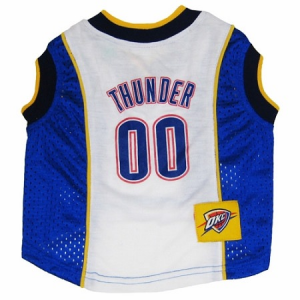 Officially Licensed Oklahoma City Thunder Dog Sports Gear. Dress your pet  in game day gear and support your favorite team! Officially Licensed  Oklahoma City ... 580b1a645