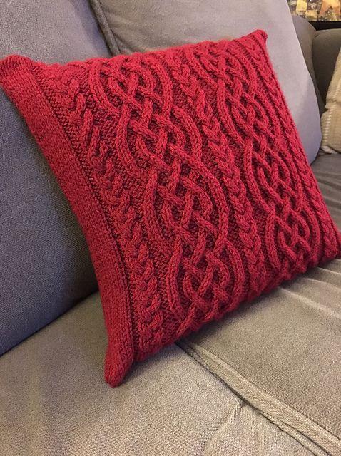 Celtic Cable Knit Stitch Pattern Project Roundup Pinterest